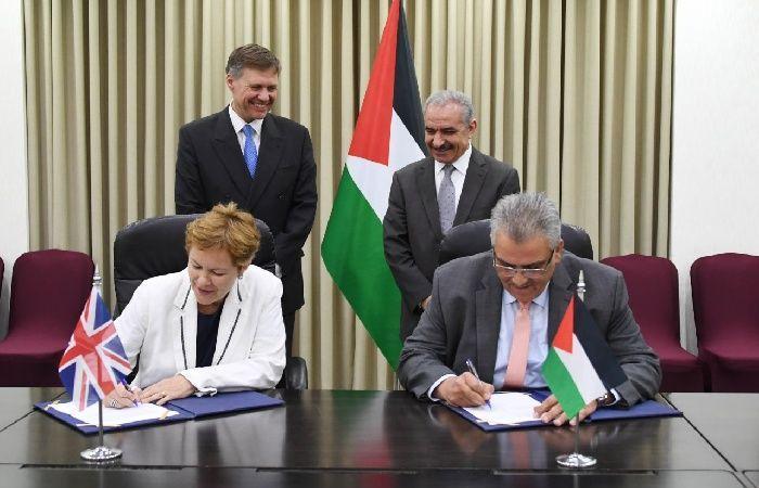 فلسطين   توقيع مذكرة تفاهم لدعم إنشاء محطة تحلية المياه المركزية في قطاع غزة