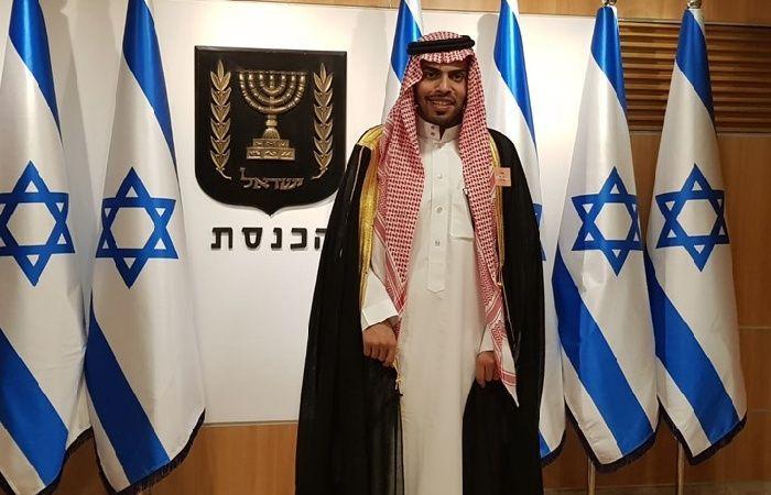 فلسطين   أعضاء الوفد الصحفي السعودي يزورون نتنياهو في مكتبه