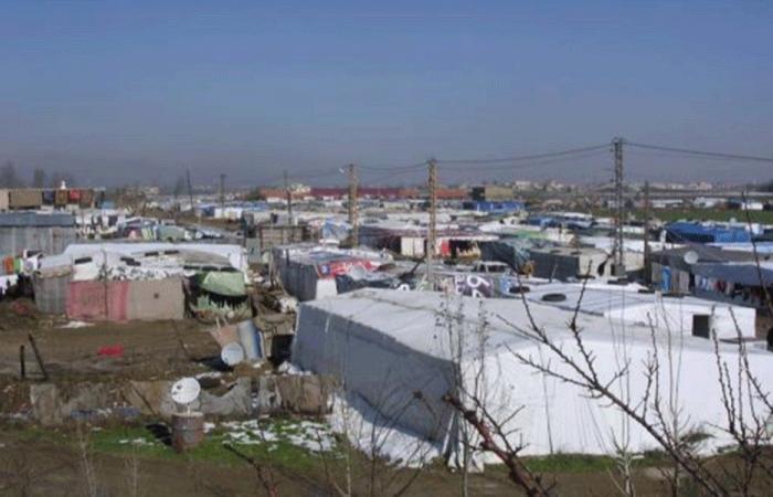 الصرفند: انتشار الصفيرة في تجمع للسوريين