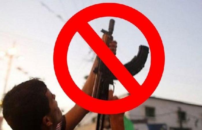فلسطين | النيابة العامة بغزة: انحسار ظاهرة إطلاق النار في المناسبات هذا العام