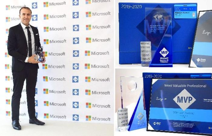 فلسطين | فلسطيني يحصد جائزة مايكروسوفت العالمية للسنة الخامسة على التوالي