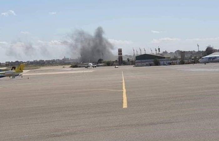 الأمم المتحدة تدين استهداف مطار معيتيقة في طرابلس