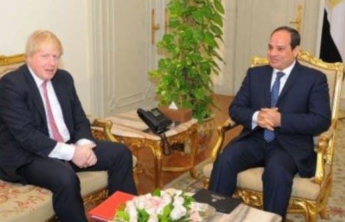 مصر | السيسي يبحث مع رئيس وزراء بريطانيا قضايا المنطقة