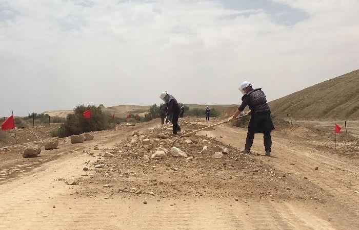 فلسطين | الداخلية: انتهاء المرحلة الأولى من ازالة الألغام في حقل ألغام المغطس