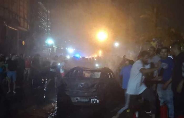 مصر   القاهرة.. 16 قتيلا في حريق مأساوي وحادث مروري
