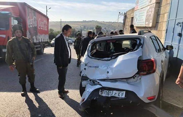 فلسطين | وفاة رضيعة و8 إصابات بحادث سير قرب أريحا