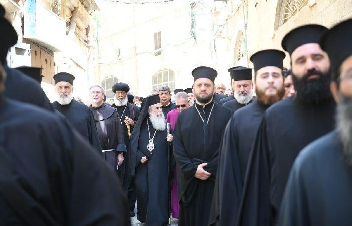 """فلسطين   """"الروم الأرثوذكس"""": """"عطيريت كوهانيم"""" تحاول ضرب الوجود المسيحي بالقدس"""