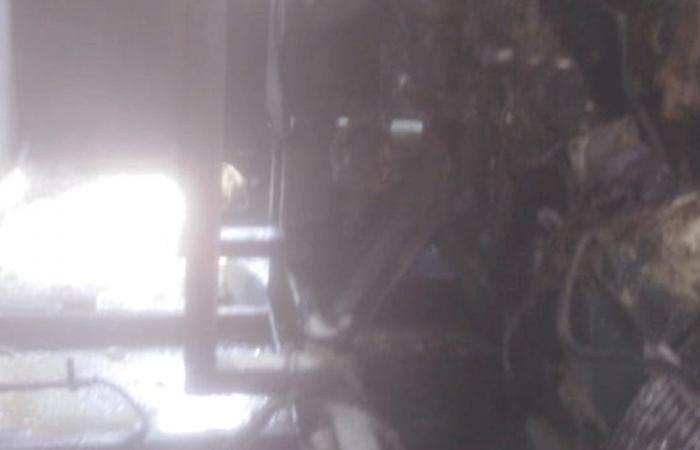 حريق في مولّد كهرباء في مستشفى خروبي