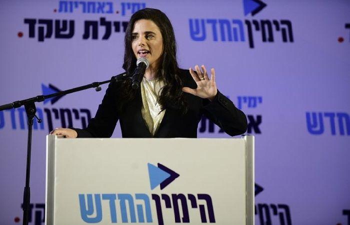 فلسطين   أيليت شاكيد تقترح فرض سيادة الاحتلال على مناطق في الضفة