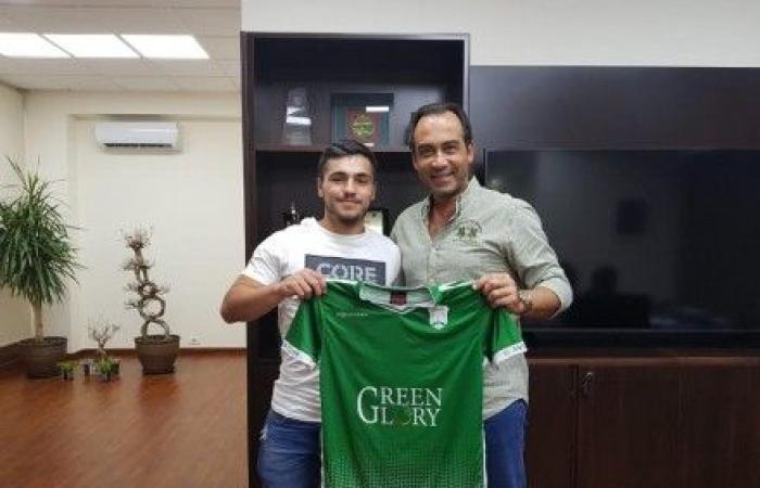 الأنصار يضم اللاعب اللبناني البلغاري إياد حمود لخمس سنوات