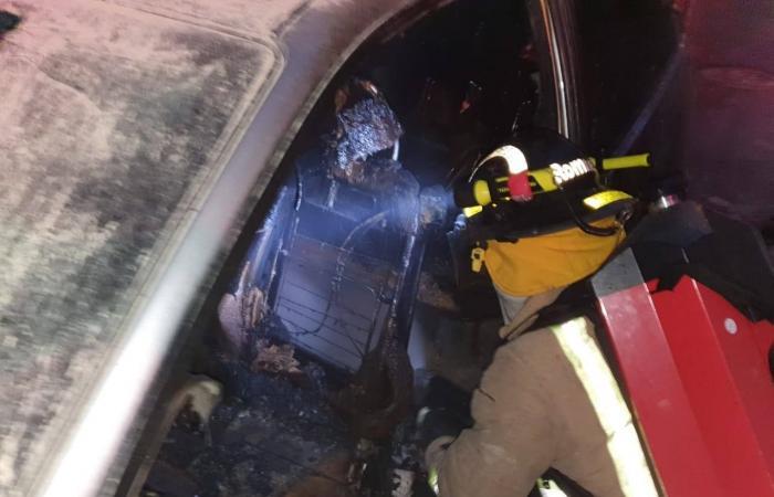 """للمرة الأولى… الدفاع المدني يخمد حريق بواسطة دراجة """"Moto ambulance"""""""