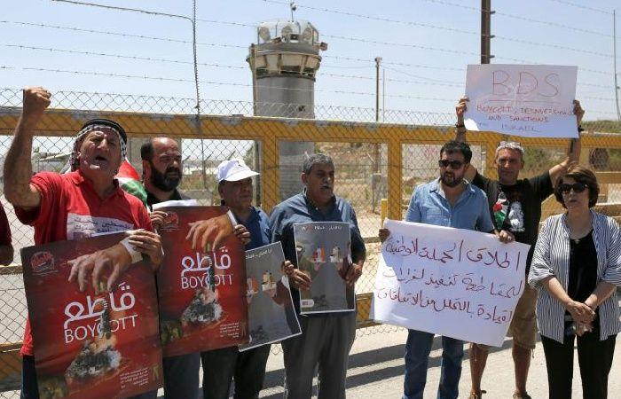 فلسطين | اطلاق الحملة الوطنية لمنع ادخال منتجات الاحتلال للسوق الفسطينية