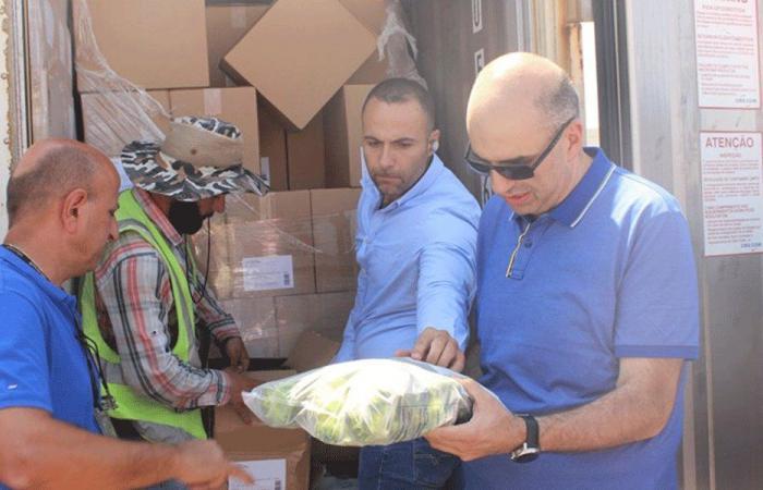 جولة مفاجئة للمدير العام للزراعة في مرفأ بيروت