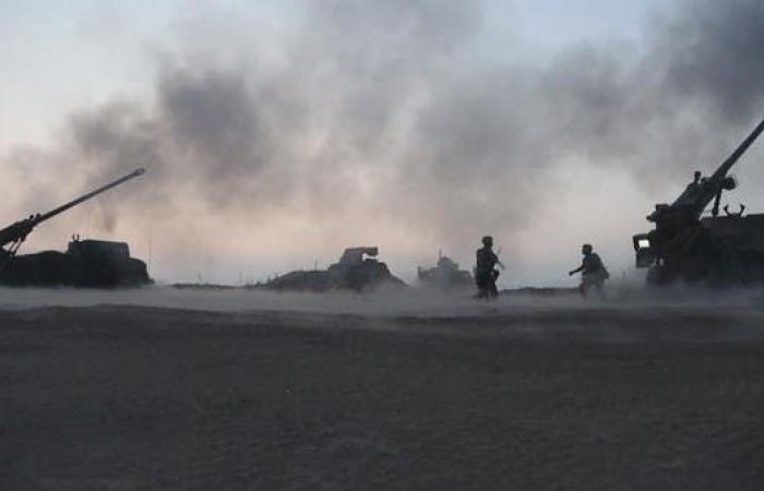 سوريا   انفجارات بمستودع ذخيرة تركي قرب الحدود مع سوريا