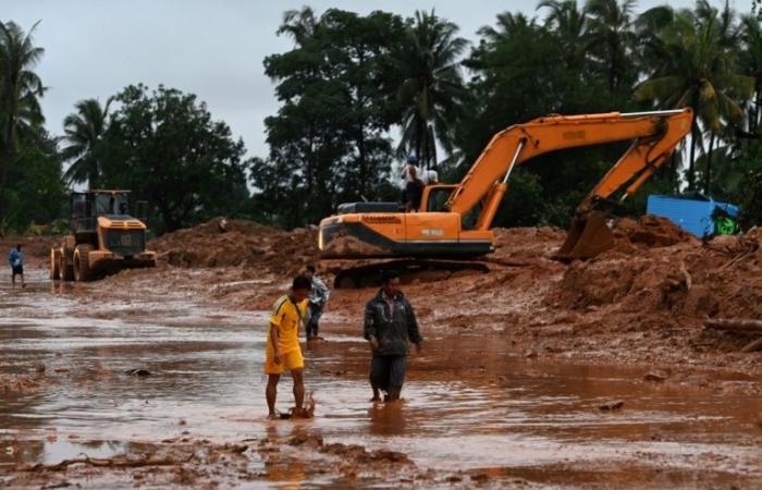 ارتفاع حصيلة انزلاق التربة في بورما الى 51 قتيلا