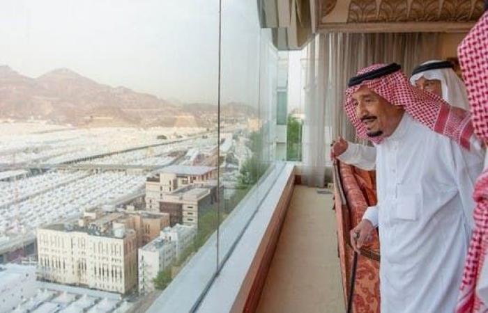 الخليح | خادم الحرمين: السعودية رحبت بجميع الحجاج دون استثناء