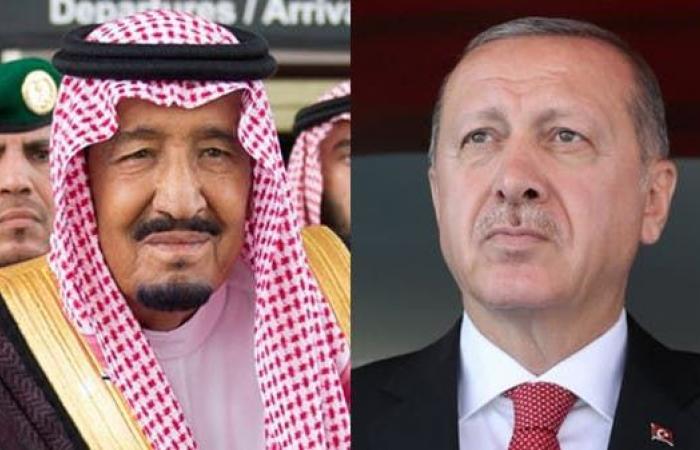 الخليح | خادم الحرمين الشريفين يتلقى اتصالاً من الرئيس التركي