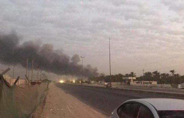 العراق   انفجار بمخزن للحشد.. والصواريخ تتساقط على المنازل ببغداد