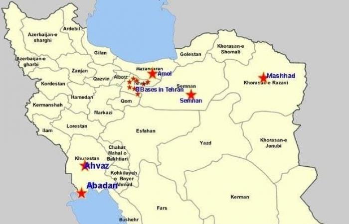 إيران | تقرير: 14 معسكراً إيرانياً لتدريب إرهابيين لمهاجمة أهداف غربية