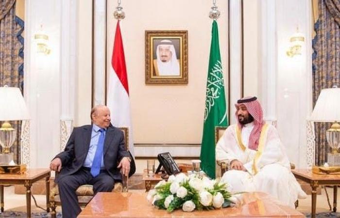 اليمن | الأمير محمد بن سلمان يبحث مع هادي التطورات في عدن