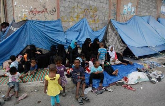 """اليمن   للعام الرابع.. 4 ملايين نازح يمني فاقدون لـ""""لمّة العيد"""""""