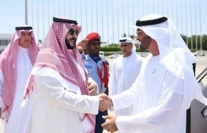 الخليح | ولي عهد أبوظبي الشيخ محمد بن زايد يصل إلى جدة