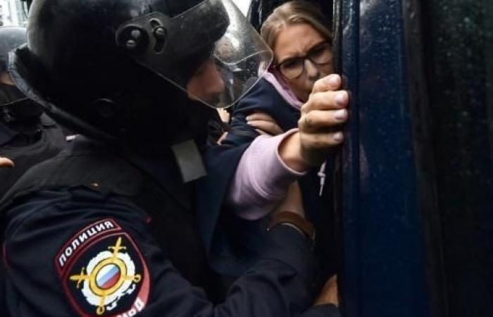 """الكرملين: حزم قوات الأمن خلال تظاهرات موسكو """"مبرر"""""""