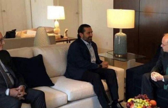 """وَضْع لبنان المالي"""" بين الحريري ومسؤولين أميركيِّين"""