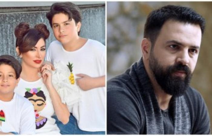 ديما بياعة تنشر صورة عائلية مع ابنيها فهد وورد.. وتيم حسن يظهر بعد غياب مع وفاء الكيلاني!