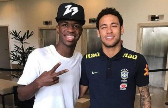 نيمار وفينيسيوس وفابينيو في قائمة البرازيل لمواجهتي كولومبيا وبيرو