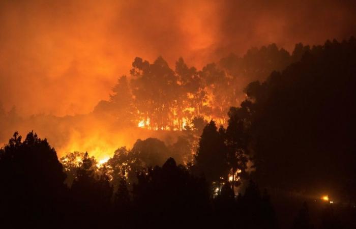 اجلاء اربعة الاف شخص اثر حريق في كبرى جزر الكناري
