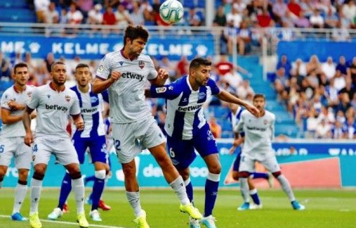 ديبورتيفو ألافيس يفوز على ليفانتي بهدف نظيف في الدوري الإسباني