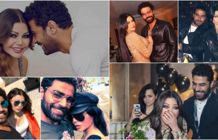 هيفاء وهبي ومحمد الوزيري.. العلاقة التي حيّرت الجمهور!