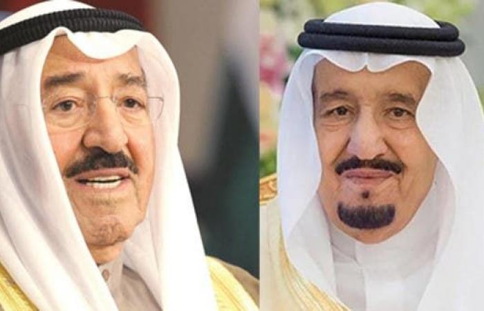 الخليح | الملك سلمان يتصل بأمير الكويت للاطمئنان على صحته