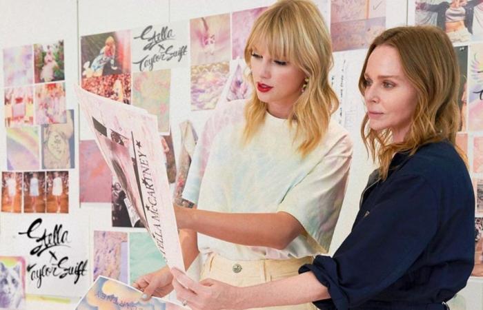 قطّة تايلور سويفت تلهمهما لإطلاق مجموعة أزياء بالتّعاون مع ستيلا ماكارتني