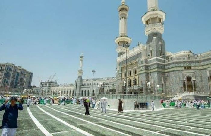 الخليح   توسعة الساحات الخارجية للمسجد الحرام لتسهيل الحركة
