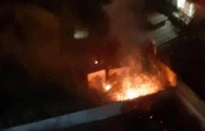 اصابة 3 اشخاص جراء انفجار الطائرة الاسرائيلية في الضاحية