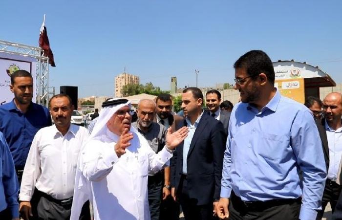 فلسطين | العمادي: قطر مستمرة بدعم الفلسطينيين والقطاعات الحيوية بغزة