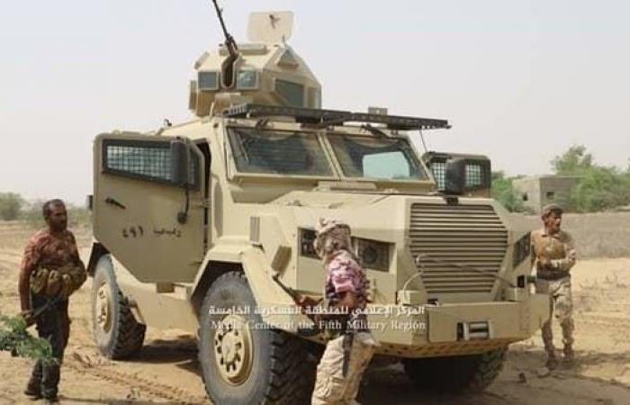 اليمن   قوات الشرعية تخوض معارك عنيفة مع الحوثيين في حرض