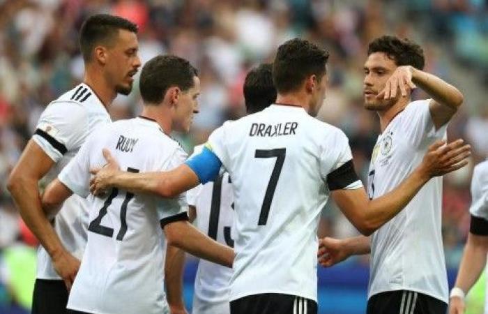 """سانيه ودراكسلر خارج """"المانشافت"""" في تصفيات كأس أوروبا"""