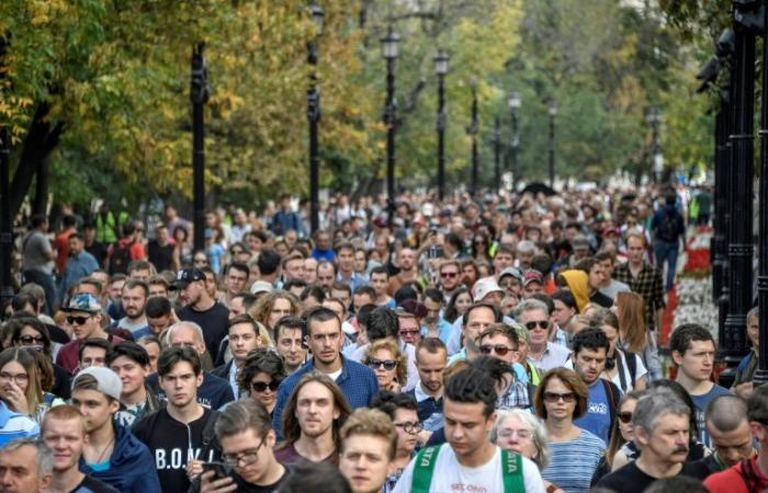 """تظاهرة للمعارضة في موسكو احتجاجا على """"القمع السياسي"""""""