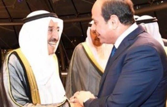مصر | السيسي من الكويت: أمن الخليج من أمن مصر