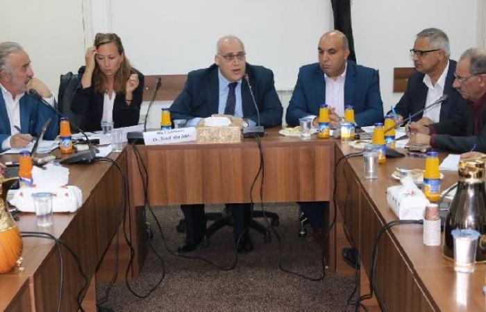 """فلسطين   أبو جيش: من الأهمية تقديم الدعم للقدس والمناطق""""ج"""" ضمن قطاع التشغيل"""
