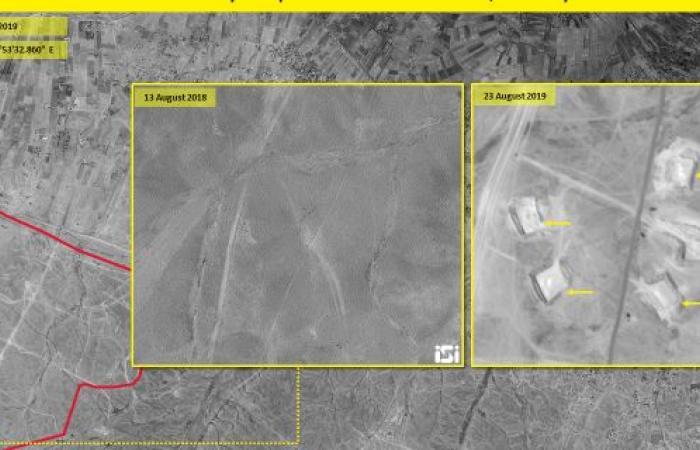 سوريا | بالصور.. إيران تبني قاعدة عسكرية سرية جديدة في سوريا