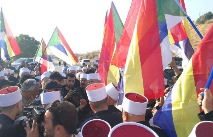 فلسطين   الاحتلال يمنع أكثر من 150 شيخاً درزياً من التوجه إلى سوريا