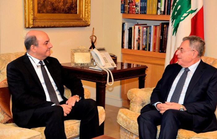 العلاقات الثنائية بين السنيورة والسفير التركي