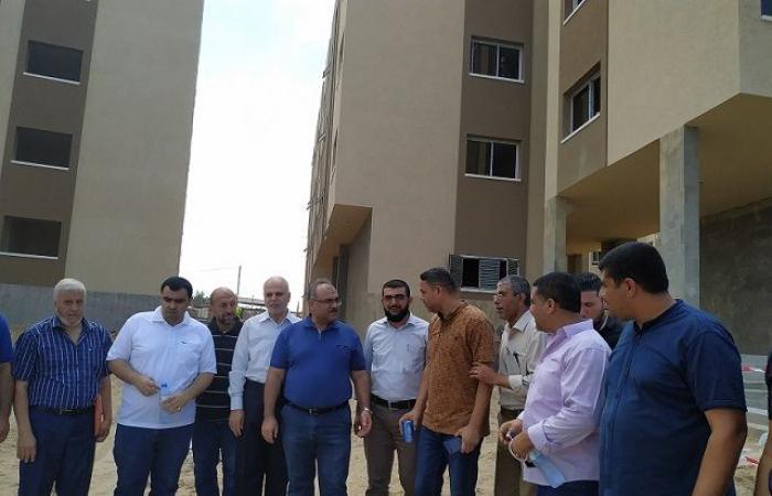 فلسطين | الانتهاء من إعادة اعمار المرحلة الأولى من أبراج الندى خلال شهرين