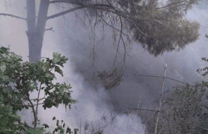 إخماد حريقين في حلبا وشدرا
