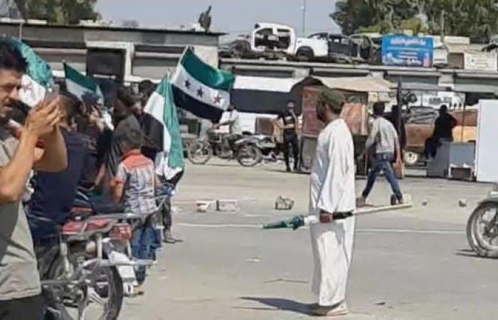 سوريا | مجدداً.. مظاهرات نحو الحدود التركية السورية