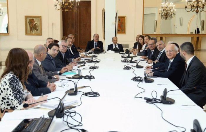 اجتماعان تحضيريان لنشاطات مئوية لبنان الكبير في قصر بعبدا
